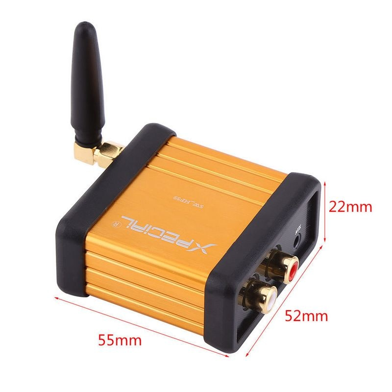 Professional HiFi Bluetooth Audio Receiving Stereo Amplification Adapter