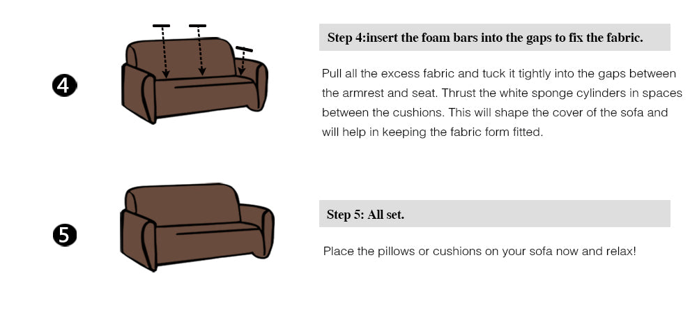 Elastic Soft Comfort Couch Slipcover