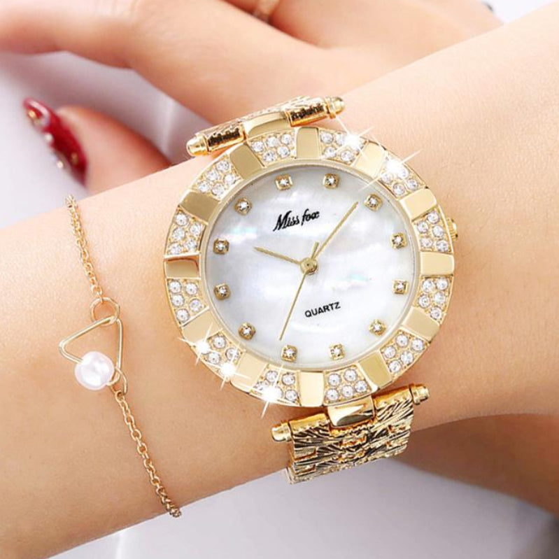 Women's Luxury Fashion Quartz Bracelet Watch
