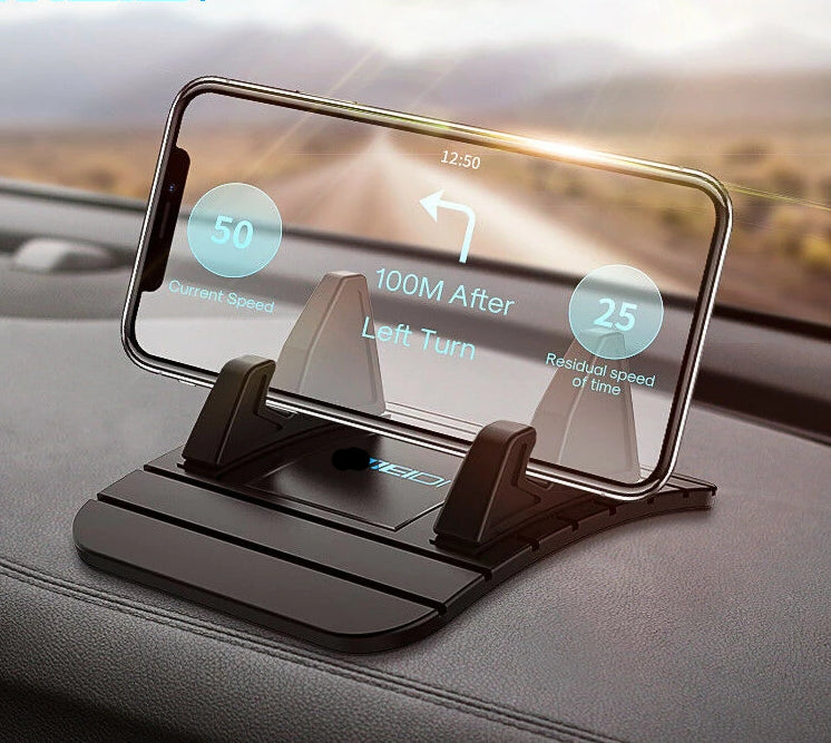 Dashboard Non-slip Rubber Mat Mount for Samsung Phone
