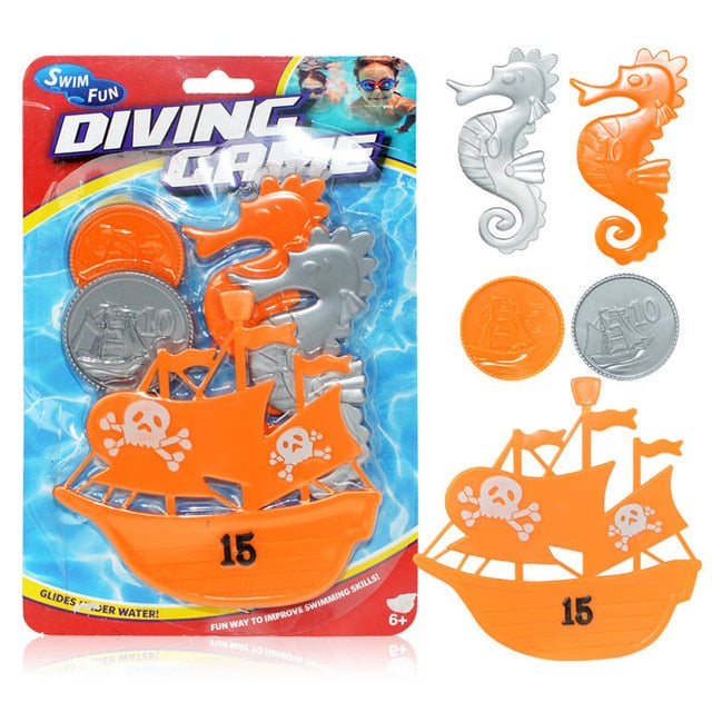 Diving Torpedo Game Pool Toys