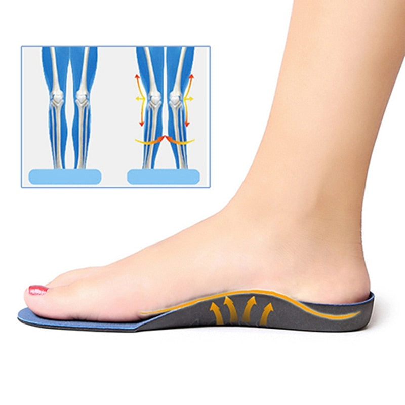Flatfoot Orthopedic Foot Cushion Insoles