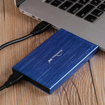 "Portable 2.5"" Slim External Storage Hard Drive"