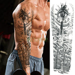 Temporary Full Sleeve Waterproof Tattoo