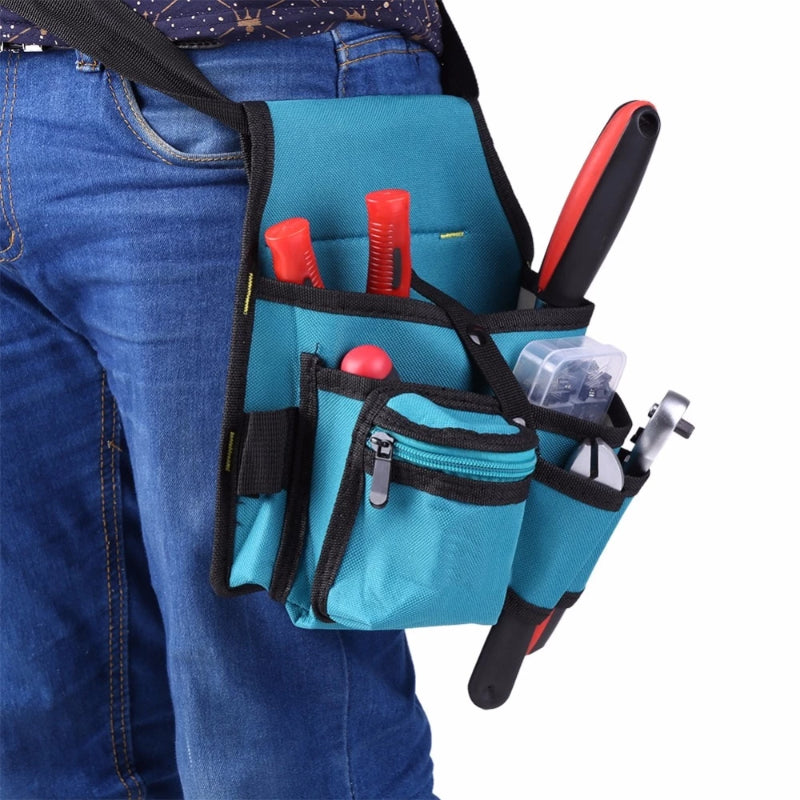 Electricians Tools Bag Zipper Multi-pocket Utility Bag