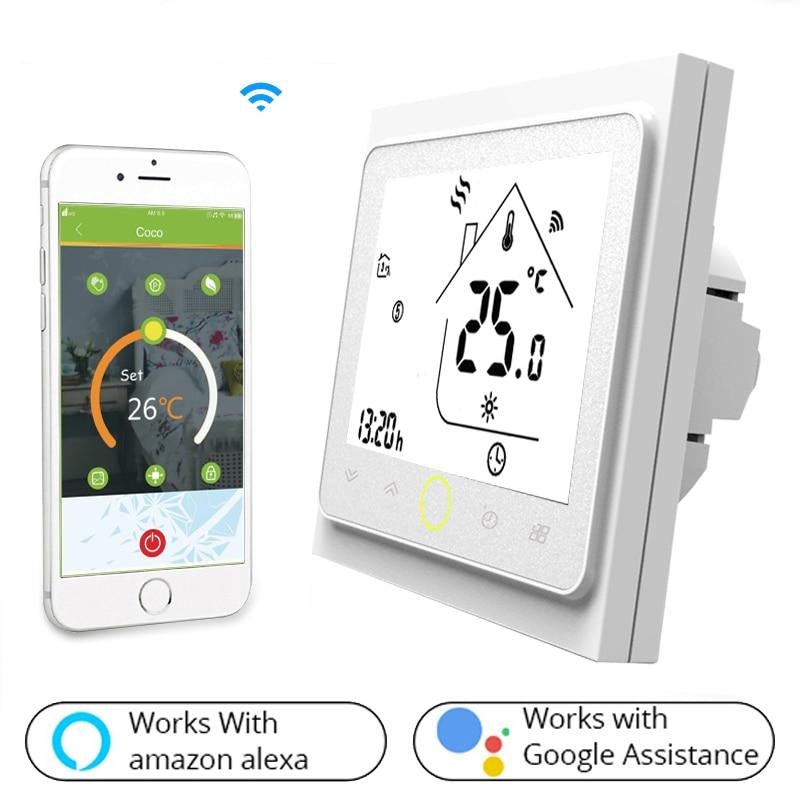 Intelligent Temperature Control Smart Home Thermostat