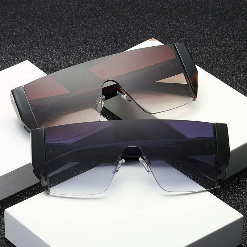 Women's Square Vintage Sunglasses