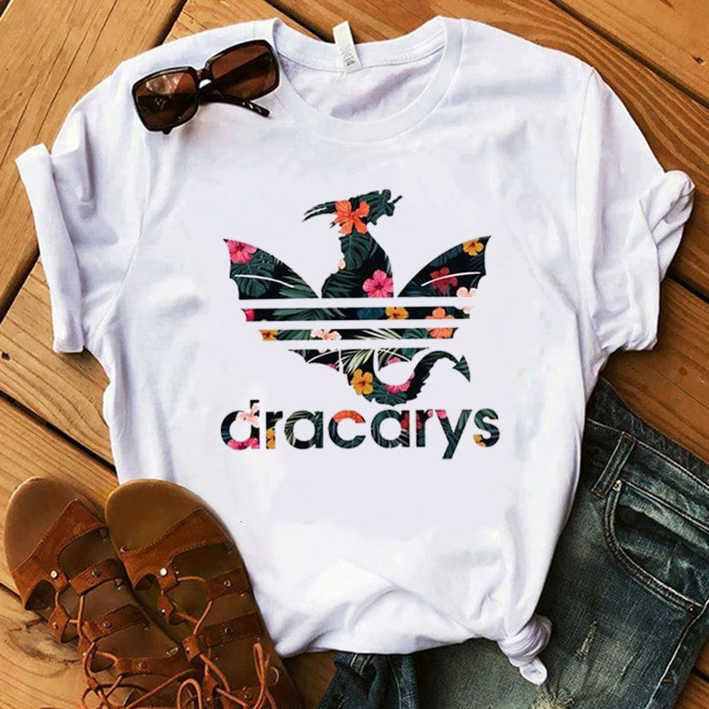 "Women's Game of Thrones ""Dracarys"" Mother of Dragons Shirt"