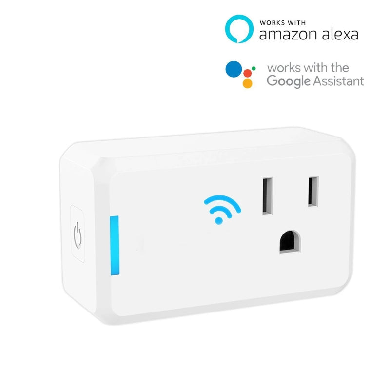 WiFi Smart Plug Outlet Power Socket Adapter App Control Homekit