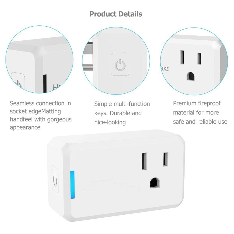 WiFi Smart Plug Outlet
