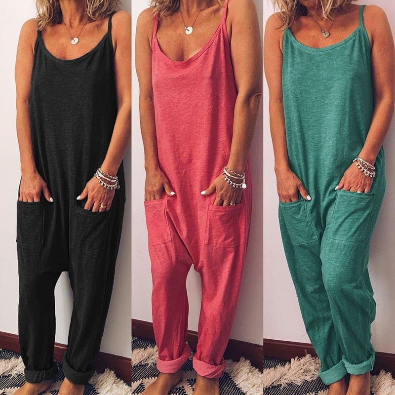 Women's Sleeveless Loose Fit Bed Time Jumper
