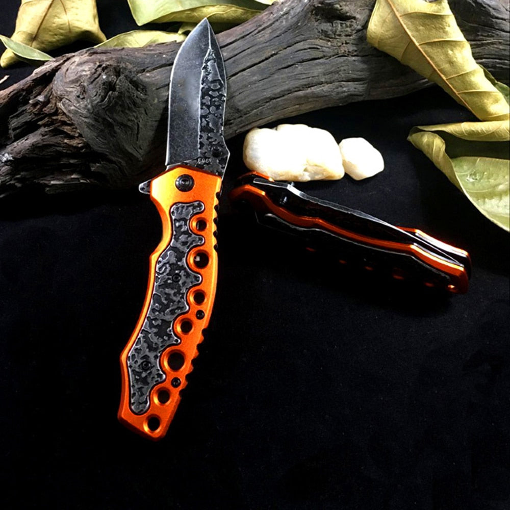 Folding Stainless Steel Tactical Pocket Knife