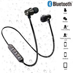 Magnetic Wireless Stereo Sports Waterproof Bluetooth Earphones