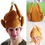 Unisex Roasted Turkey Chef Hat
