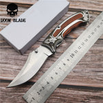 Royal 5CR15MOV Blade 195mm Tactical Military Folding Knife - Camping, Hunting, Survival
