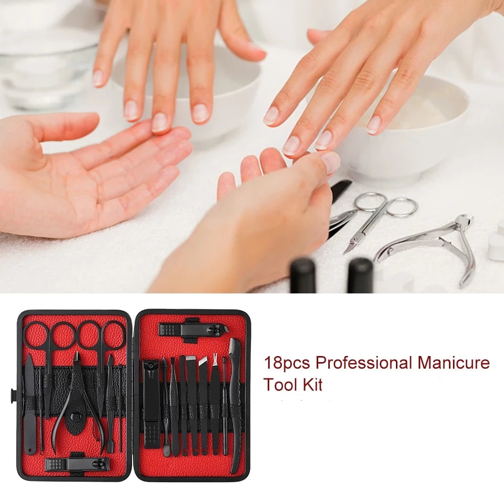 Pro Manicure Set and Nail Kit
