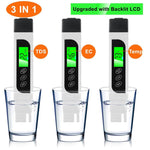 Digital TDS Meter Aquarium Pool Water Quality Testing Pen