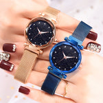 Women's Luxury Fashion Elegant Magnet Buckle Watch