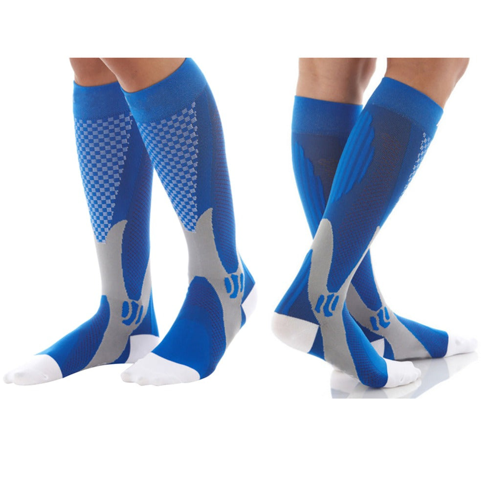 Unisex Cotton Knee High Diabetic Compression Socks