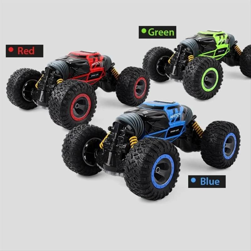 High Speed 4WD Remote Control Driving Double-sided Monster Truck Deformation Vehicle