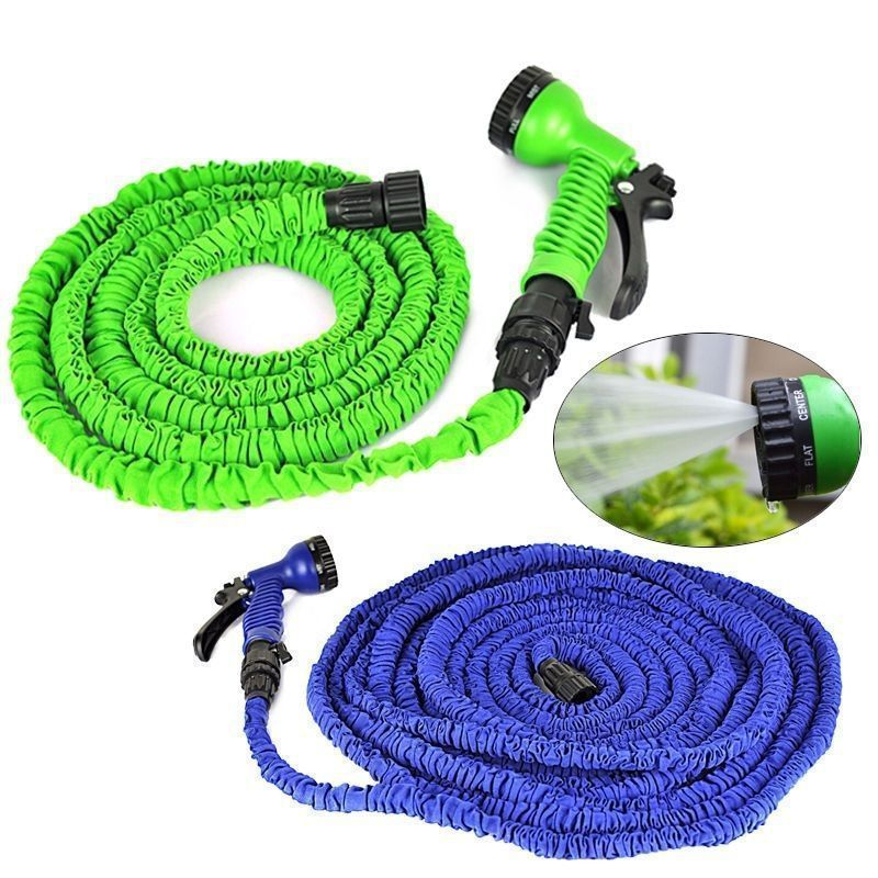 Magic Flex Expandable Garden Hose with Spray Nozzle