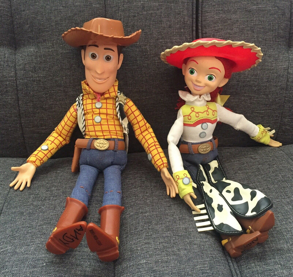 "Download Toy Story 4 Pull String Jessie/Woody 15"" Talking Toy"