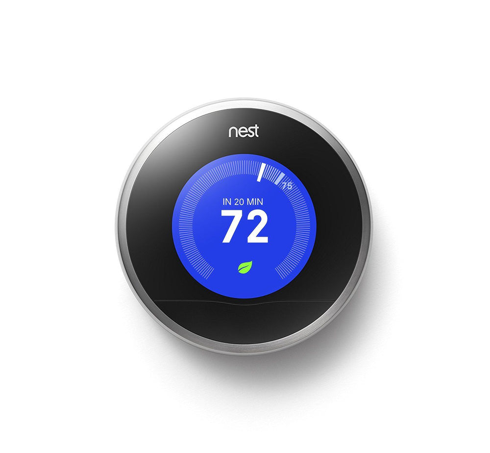 Nest Learning Thermostat, 2nd Generation - Works with Amazon Alexa