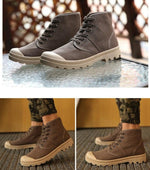 Men's Tactical Leather Combat Shoes