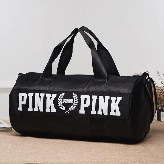 Women's Love Pink Large Travel Duffle Bag