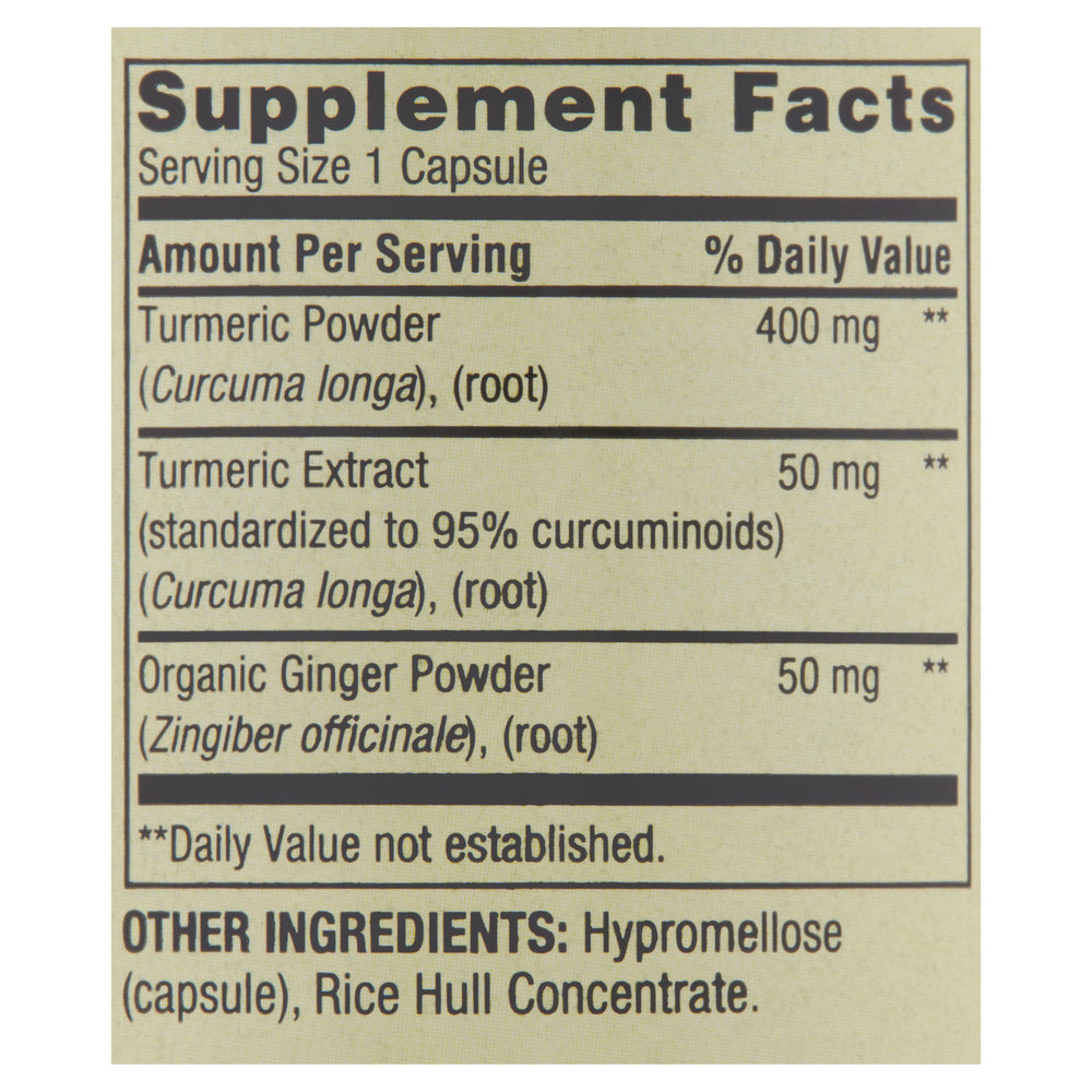 2 Pack: 500mg Turmeric Curcumin Vegetarian Dietary Supplement Capsules - 180 Capsules
