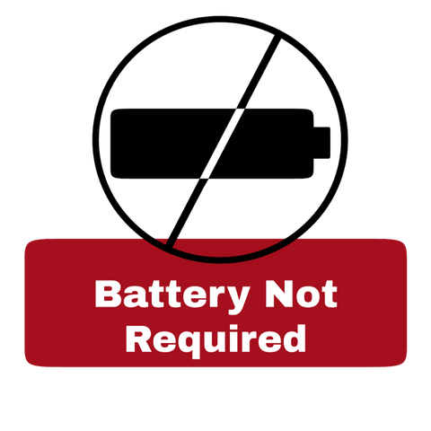 Battery not required