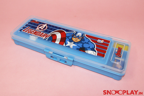 Captain America Pencil Box for kids Back to school buy online India for best price free shipping