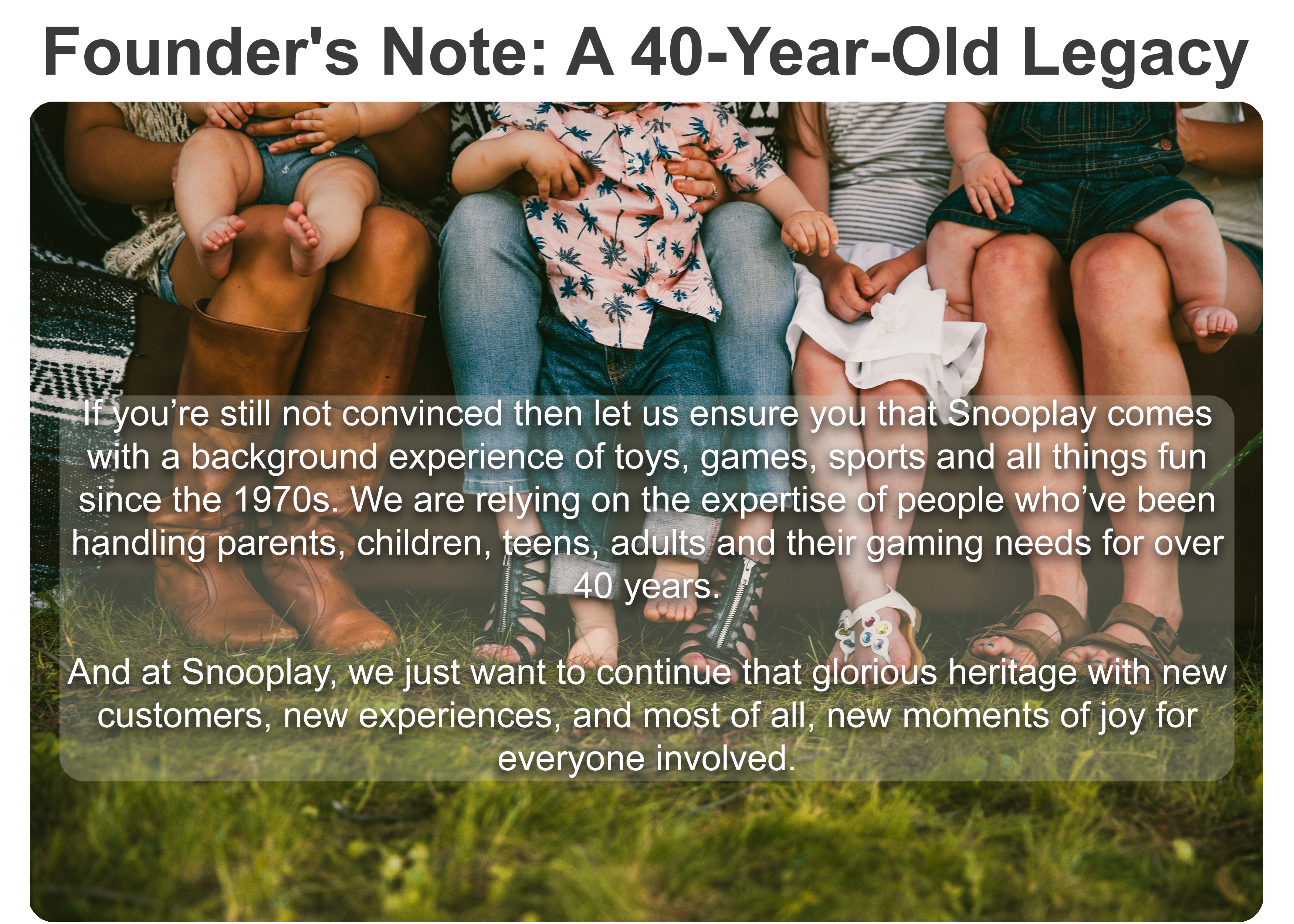 Founders Note
