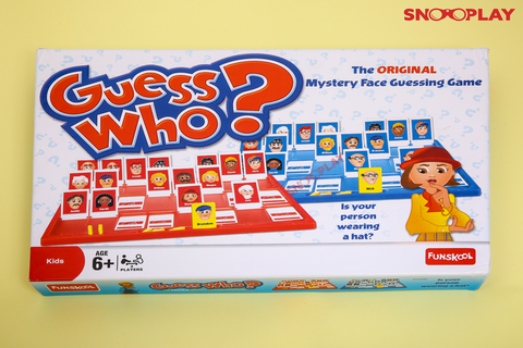 Guess Who Board Games for Kids Fun Games Buy Online India at Best Price Free Shipping