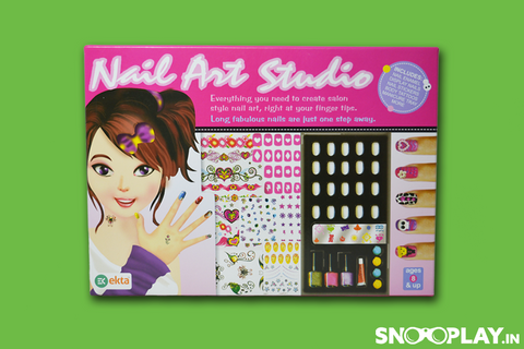 Nail Art Studio Girls Game Online India Best price