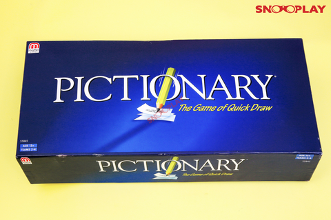 Pictionary Drawing Games Board Games Party Games For Adults Kids Games Buy Online India at Best Price Free Shipping