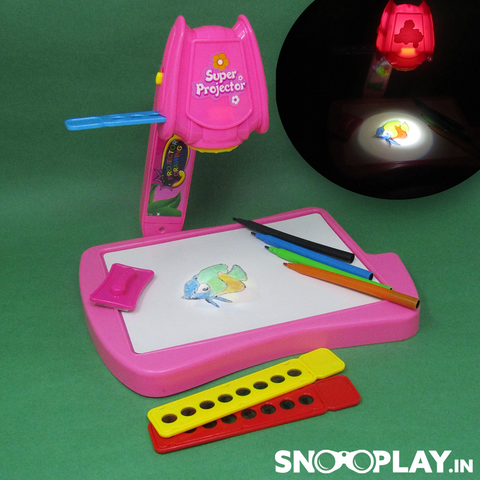 Super Projector Light Toy for kids DIY drawing