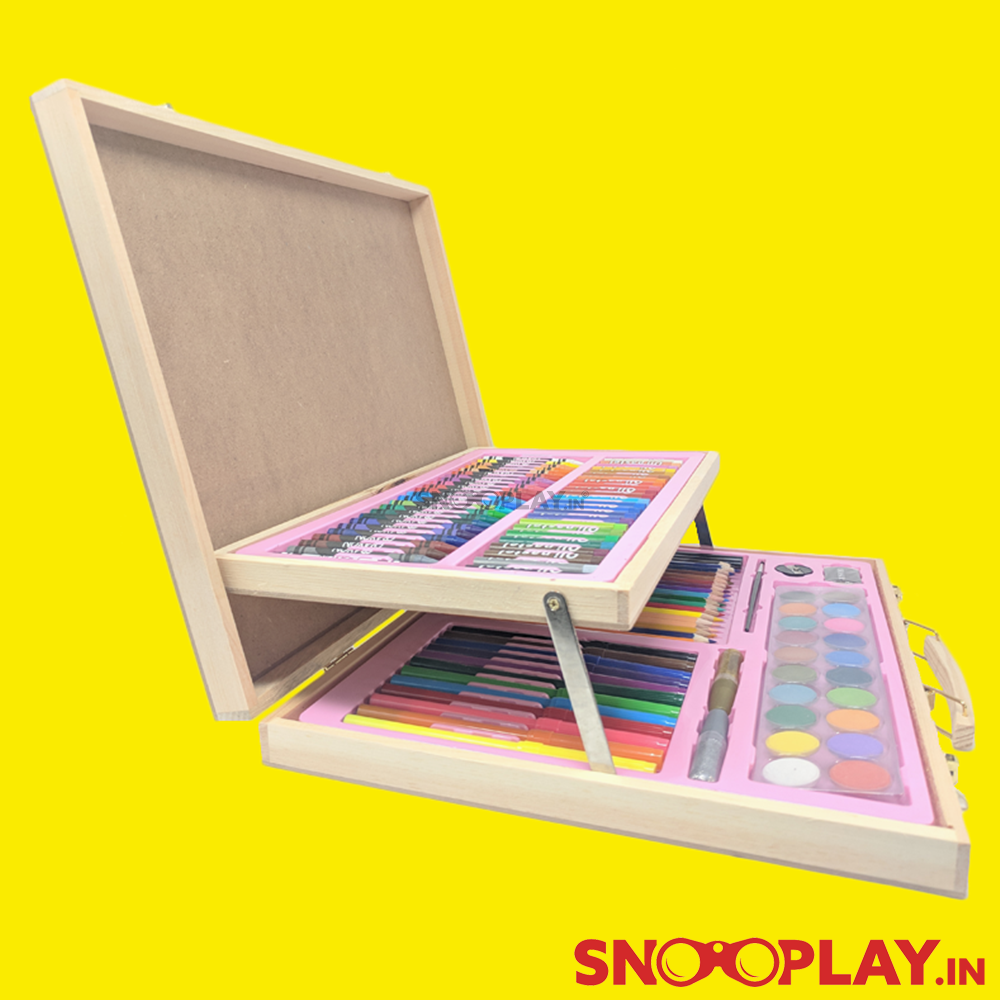 Wooden Painting Set