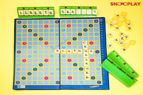 Crossword Game Scrabble Crossword Puzzles Board Games Kids Games Party Games for Adults