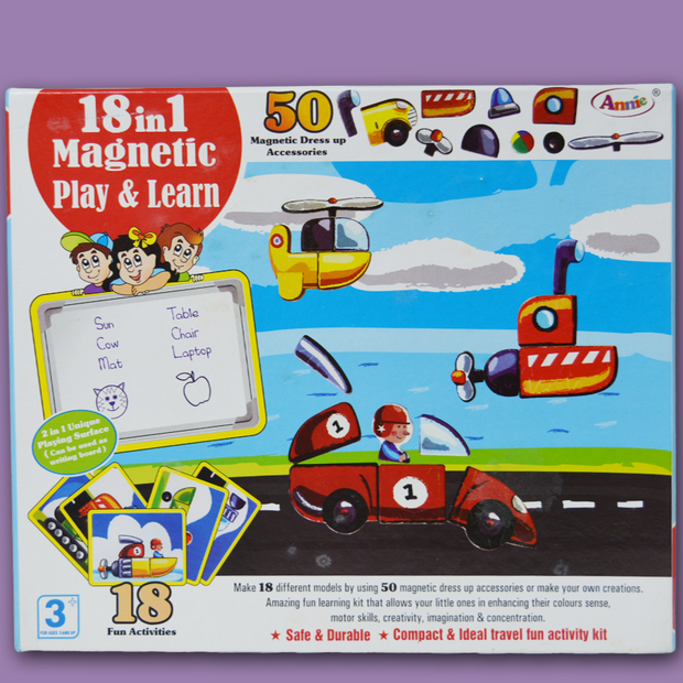 18 in 1 Magnetic Play and Learn
