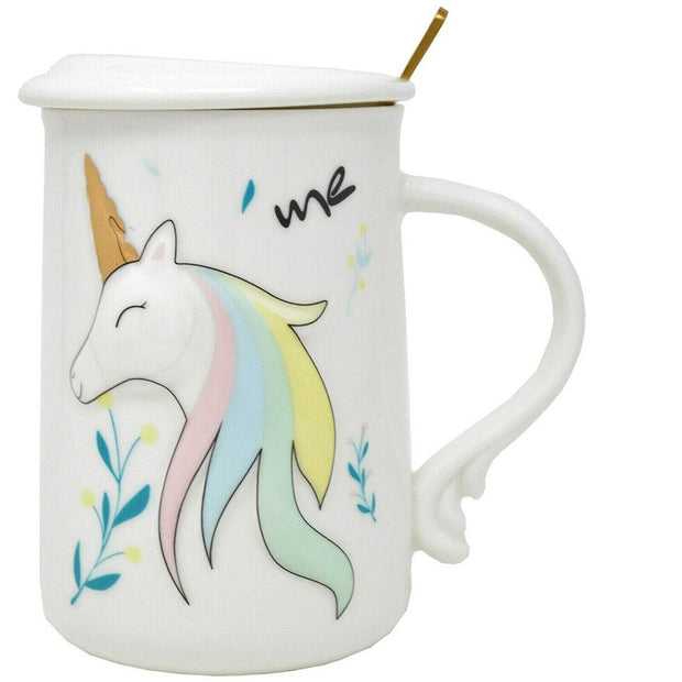 Check this cute unicorn 3d mug if you are looking for gifts in the category- gifts for kids, home decor gifts, gifts for unicorn girl, unicorn gifts, real unicorn gifts, cute 3d coffee mugs. Buy this unicorn 3d coffee mug from snooplay.in at best price.
