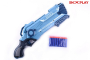 Twin Soft Blaster action gun and bullets toy for kids:- Snooplay.in