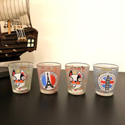 Quirky Shot Glasses With Funky Prints