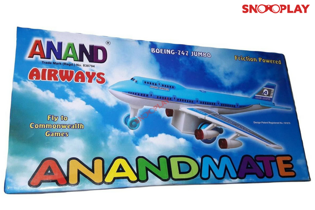 Buy Airplane aeroplane friction toy model for kids - Snooplay.in