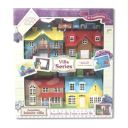 Exquisite Leisure Villa 2 in 1 Combination Doll House Set