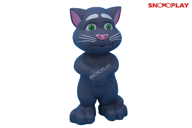 Intelligent Tom Cat talking musical toy for kids:-Snooplay.in