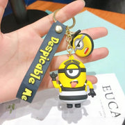 Minion Figure Keychains - Despicable Me (Kevin, Stuart, Agnes and Bob)