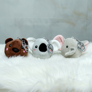 Looking for a cute plush toy or a cute little animal keychain or a squeezy toy? Well we got you covered, Snooplay.in brings you the ultimate combination and the cutest product of them all- the squeezy plush toy keychain with a cute surprise inside.