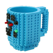 Lego Puzzle Brick 3D Coffee Mug