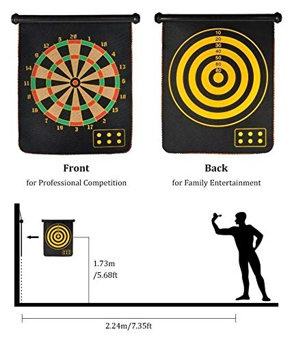 This magnetic dartboard is a great house party game for a fun family/friends night. Gift it to your friend who loves playing a game of darts.